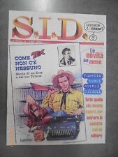 S.I.D. SCUSATE IL DISTURBO  N° 0 - TEX