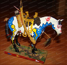 WOODLAND HUNTER (Trail Painted Ponies by Westland, 12220) 1E/1,699 Signed L.E.