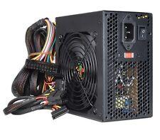 550W Watt Logisys ATX Black Power Supply 20+4 pin 3X SATA PCIe 120mm Fan 532*