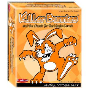 Killer Bunnies Quest Orange Booster Card Game