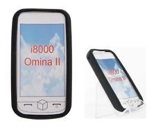Etui Housse Silicone (NOIR) ~ Samsung GT i8000 Omnia 2