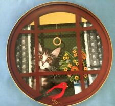 "Walter'S Window-Uncle Tad'S Cats- Artist T.Krumeich 9.5"" Bavaria Plate"