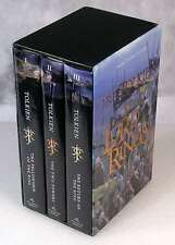 Lord of the Rings Tolkien 3 Volumes Boxed Set Slipcase Hobbit Frodo Bilbo Exl
