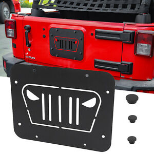 Angry Spare Tire Carrier Delete Filler Plate Tramp Stamp for Jeep Wrangler JK