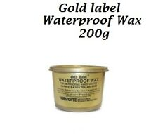 Gold Label Waterproof Wax, Saddle Soap, Hide Food,Dubbin Black Natural & Brown,