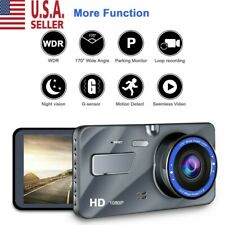 "4""  Vehicle 1080P HD Car Dashboard DVR Camera Video Recorder Dash Cam G-Sensor"
