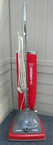 Sanitaire SC679 J-2 5 Amp Commercial Upright Vacuum Cleaner w New Shake Out Bag