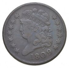 1809 Classic Head Half Cent - Charles Coin Collection *770