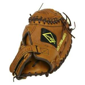 New Glovesmith Field Commander Series Fastpitch RHT Catcher's Mitt Brown