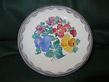 VINTAGE GMUNDNER KERAMIK Handpainted Decorative Dish 6.75""