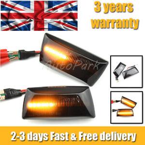 Dynamic Side Indicator LED Repeater Light For Adam Astra H GTC VXR Corsa D E UK4
