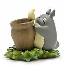 Flower Pot Ornaments Fairy Potted Totoro Figurines Garden Moss Gnome Decoration
