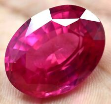 32.35 Ct Natural Mogok Pink Ruby Oval Cut AGSL Certified Stunning Gemstone !!