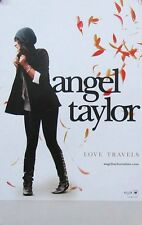 ANGEL TAYLOR POSTER, LOVE TRAVELS DOUBLE SIDED (A24)