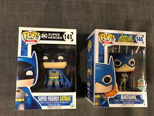 Funko POP! Vinyl BATMAN SUPER FRIENDS #141 And BATGIRL Specialty Series #148 DC