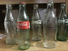 Lot of 5 Different Vintage COKE Bottles