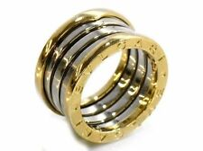 Bulgari Ringe aus Edelmetall ohne Steine