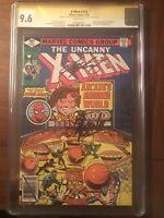 UNCANNY X-MEN #123  CGC 9.6 SS STAN LEE & CHRIS CLAREMONT. NICE!!!