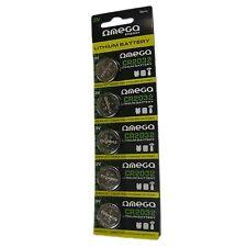 Omega CR2032 pila 3V Lítio pack 5 unidades