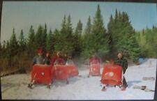MOTO-SKI Snowmobile Post Card Factory Original 1960s Vintage Race NOS