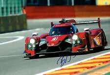Bruno SENNA SIGNED Photo AFTAL COA Autograph Formula E Driver Mahindra Racing