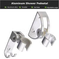 Wall Mounted Shower Head Holder Replacement Bracket Bathroom Hand Hose Chrome