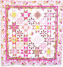 CLEARANCE - Daisy Constellation - pretty pieced and applique quilt PATTERN