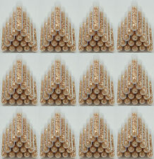 1000 Large 3ml Vials, Filled Full of Gold Leaf Flakes! The lowest Price on Ebay!