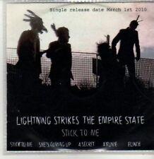 (BT747) Lightning Strikes The Empire State, Stick To Me - DJ CD