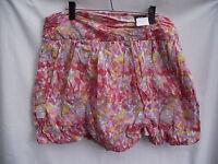 BNWT Ladies Sz 16 18 UK F&F Brand Pretty Floral Gathered Bubble Style Skirt