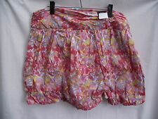 BNWT Ladies Sz 16 18 UK F&F Brand Pretty Floral Gathered Bubble Style Skirt