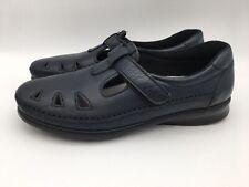 SAS Tripad Comfort Roamer Mary Jane Slip On Shoes Navy Women's Size 8.5 N