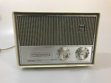 Vintage Magnavox Cabana Tube AM Radio Needs Repair
