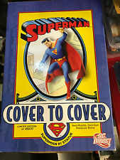DC Direct Superman Cover To Cover Limited Edition Statue
