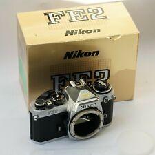 Nikon FE2 Gehäuse silber, sehr schön
