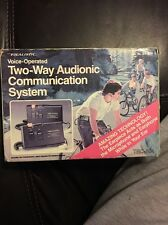 Vintage Realistic (21-404) Voice-Operated Two-Way Audionic Communication System