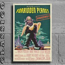 "Forbidden Planet Poster Giant XXL 36"" Retro Classic  #497414"