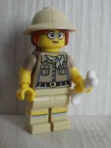 Figürchen LEGO Aventure Abenteurer Weiblich Polizei Rangers
