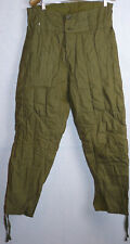 Original Soviet Russian Army Military Soldier Winter Trousers Uniform USSR 1973