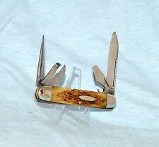 RARE VINTAGE CASE BRADFORD TESTED XX ROGERS BONE SCOUT UTILITY KNIFE 6445 1915-2