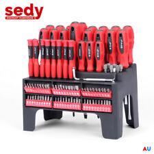 Magnetic Screwdriver Set 100 Piece Power Socket Nut Setter Bits Driver Ratchet