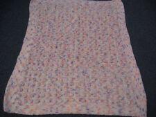Girl Crochet/Knit Knitted Nursery Blankets & Throws