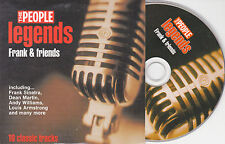 CD CARDSLEEVE COLLECTOR 10T SINATRA/VIC DAMONE/FRANKIE LAINE/DEAN MARTIN/BENNETT