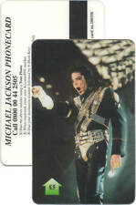 Michael Jackson Carte Telephone Phonecard Calling Phone Card UK 1990s