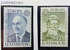 2 X Timbre Stamp Luxembourg 1980 YT 959 960 EUROPA CEPT Neufs