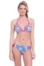 Profile Blush Gottex Bandana M DDD/F Cup Halter Hipster Bikini Swimsuit NWT $114