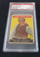1933 Goudey Sport Kings #25 Ralph Snoddy PSA VG+ 3.5