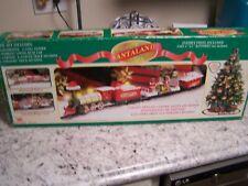 Vintage 1997 Logger Bears Santaland Express Bright Musical Animated Christmas