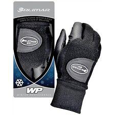 Orlimar Men's Winter Performance Fleece Golf Gloves Pair Black Cadet Medium NEW