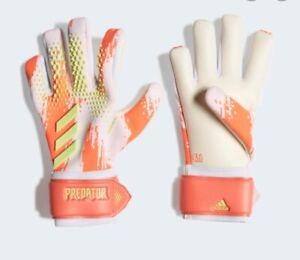 Adidas PREDATOR 20 LEAGUE Soccer Goalkeeper Gloves Demonskin FP7919 SIZE 10